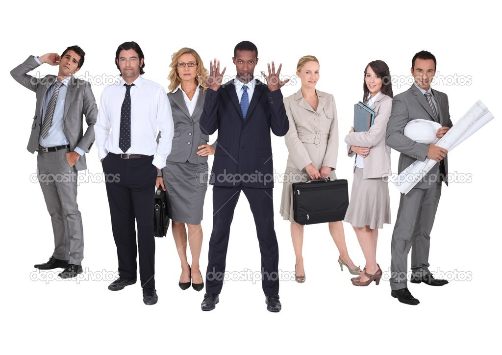 Business team — Stockfoto #8556031