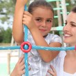Playtime outdoors — Stock Photo
