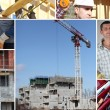 Construct a building - Foto Stock