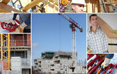 Construct a building — Stock Photo
