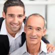 Portrait of father and son — Stock Photo #8575735