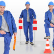 Stockfoto: Construction worker