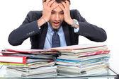 стресс учитель — Стоковое фото