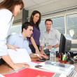 Busy office — Stock Photo