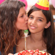 Stockfoto: Birthday Kiss