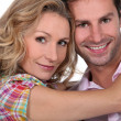 Headshot of smiling couple — Stock Photo #8584885