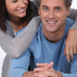 Portrait of a loving couple - Stockfoto