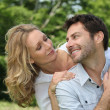 Couple smiling — Stock Photo #8653025