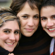 Portrait of three young girls — Stock Photo #8654413