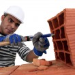 Bricklayer — Stock Photo #8664276
