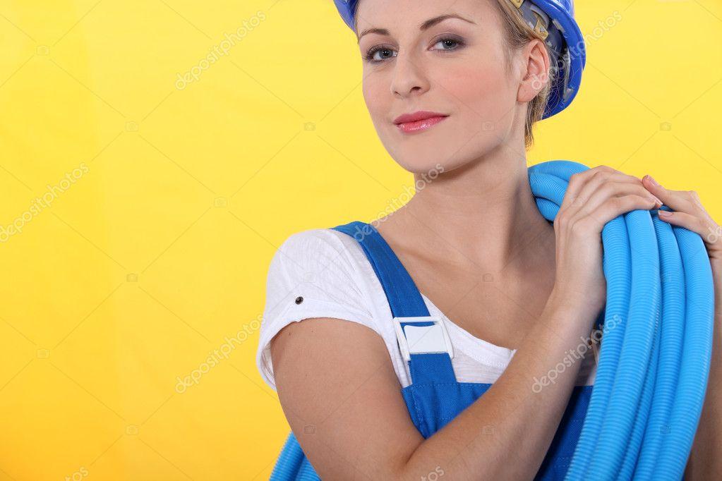 Сантехник и блондинка фото 248-964