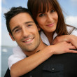 Loving couple outdoors — Stock Photo #8678379