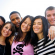 Group of young posing for photo — Stock Photo #8679079