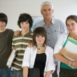 Teacher and pupils — Stock Photo #8679433