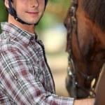 I wanna be a jockey — Stock Photo #8687807