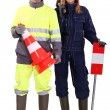 Civil construction workers — Stock Photo #8695914