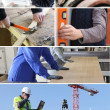 Construction occupations — Stock Photo