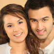 Stock Photo: Portrait of multiracial couple