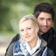 Couple walking in the countryside — Stock Photo #8754514