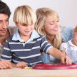 Portrait of a family — Stock Photo #8756456