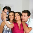 Friends taking a picture of themselves — Stock Photo #8776160