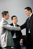 A business handshake — Stock Photo