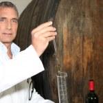 Wine tasting — Stock Photo