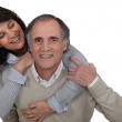 A nice middle age couple. — Stock Photo