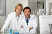 Scientists — Stock Photo
