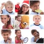 Portraits of children — Stock Photo