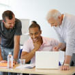 A group of entrepreneurs — Stock Photo