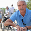 Middle-aged on bike ride — Stock Photo #8911986
