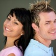Trendy young couple — Stockfoto #8911995