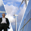 Sustainable energies — Stock Photo