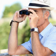 Royalty-Free Stock Photo: Man birdwatching