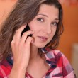 Woman using a cellphone — Stock Photo #8927052