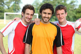 Futbol oyuncuları — Stok fotoğraf