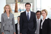 Portrait of a business team — Stockfoto