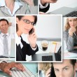 Business at work — Stock Photo #8930369