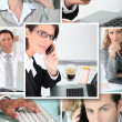 Stock Photo: Business at work