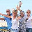 Stock Photo: Senior citizens on holiday