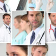 Doctors and nurses - Stock Photo