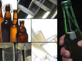 Mosaico de bebida — Foto Stock