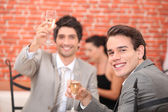 Cheers and congratulation — Stock Photo