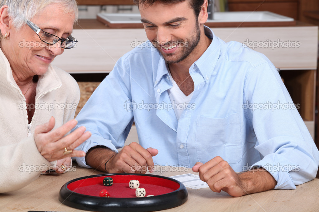 depositphotos 8962627 Young man playing dice with older woman Despite having sex education in schools, the number of teenage girls with ...