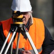 Site surveyor — Stock Photo #8971167