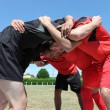 scrum rugby — Foto Stock