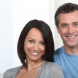 Portrait of happy couple — Stock Photo #9041351