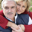 Portrait of happy couple — Stock Photo #9042264