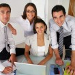 Business team posing together — Stock Photo #9042484
